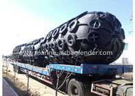 2.5m*5.5m Low Pressure Yokohama Pneumatic Fender Safety Operation