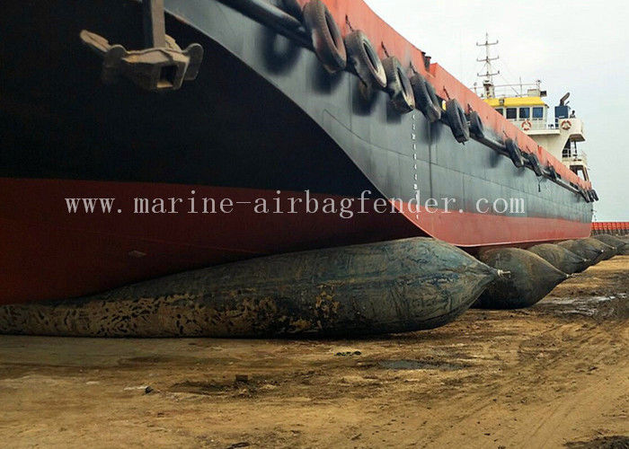 Ship Launching Marine Rubber Airbag Pneumatic 0.14 MPa Working Pressure